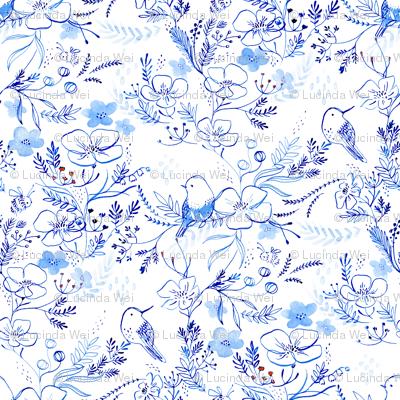 birds + bees - © Lucinda Wei