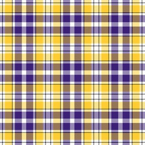 Minnesota Vikings Full Plaid