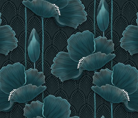 Rart-deco-poppies-teal_shop_preview