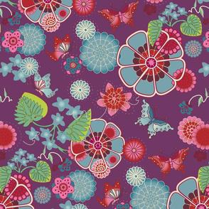 Sakura Purple