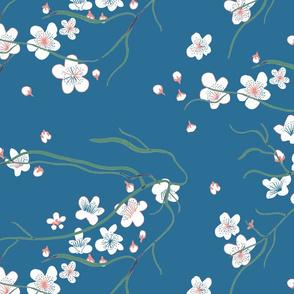 chinoiserie cherry blossom