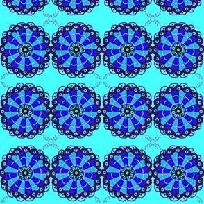 Blue Music Art