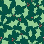 Green Holiday Holly