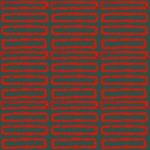 Red rectangles on dark grey background