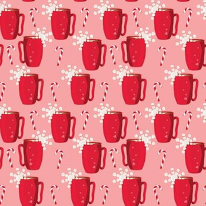 Pink Hot Chocolate with Peppermint_Small
