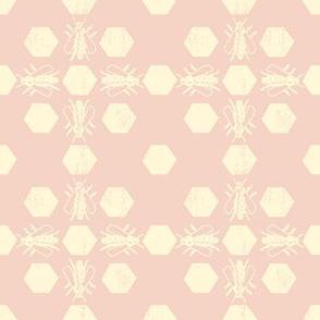 Pink Bee Pattern