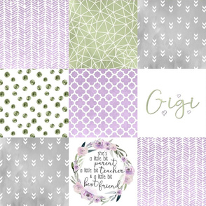 Gigi - Wholecloth Cheater Quilt