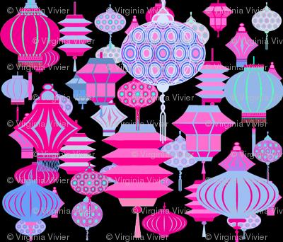 Boho Chinese Lanterns