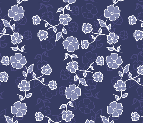 Chinoiserie fabric by psychae on Spoonflower - custom fabric