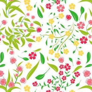 Floral Design white