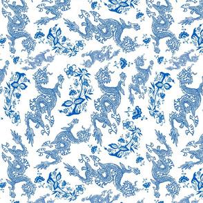 blue Dragon pattern larger