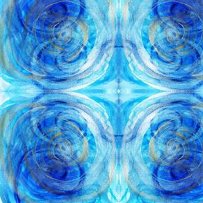 Swirling Blues