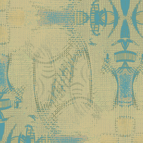 Cave Francais 3 fabric by david_kent_collections on Spoonflower - custom fabric