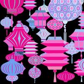 Chinese Lanterns Wallpaper