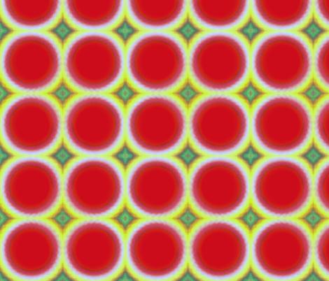 Watermelon Fuzz 1947 fabric by amytraylor on Spoonflower - custom fabric