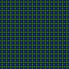 "Ancient Gordon tartan, modern colors, 1/2"""