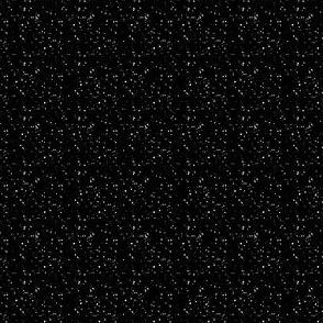 "4"" White Dots Black Background"