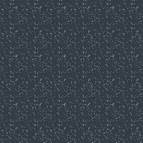 """4"""" White Dots Dark Steel Blue Background"""