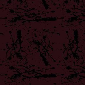 wine paint splatter
