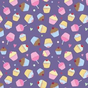Cupcakes Purple