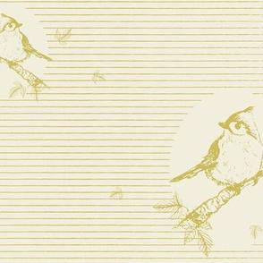 Avian Vignettes - Green