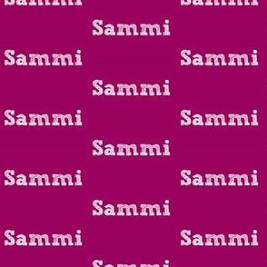 Sammi - Orchid