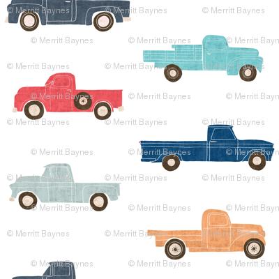 Vintage Trucks - Custom Sizing Request