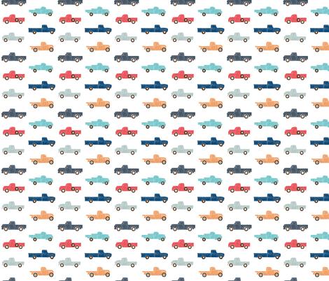 Vintage Trucks - Custom Sizing Request fabric by scarlette_soleil on Spoonflower - custom fabric