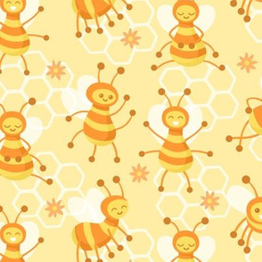 Busy Bees Yellow