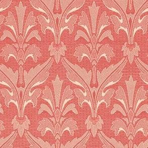 Woodcut Wings Pompeii Rose