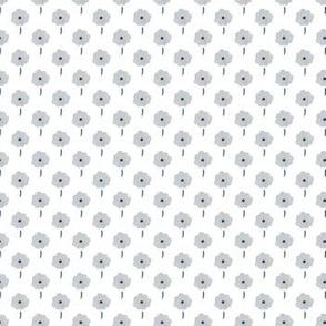 Gray Poppy Field