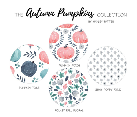 Fall Floral - Autumn Pumpkin Collection