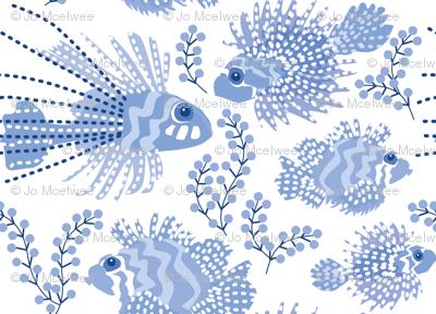 Pretty Chinoiserie fish