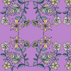 Floral bouquet-lilac