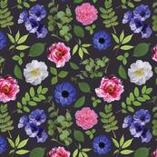 Pressed Floral Dark