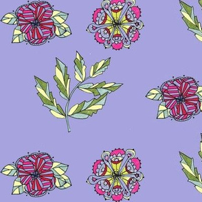 Sprigs ll-lavender