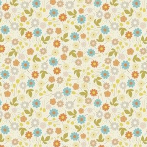 Ditsy Floral - Cream