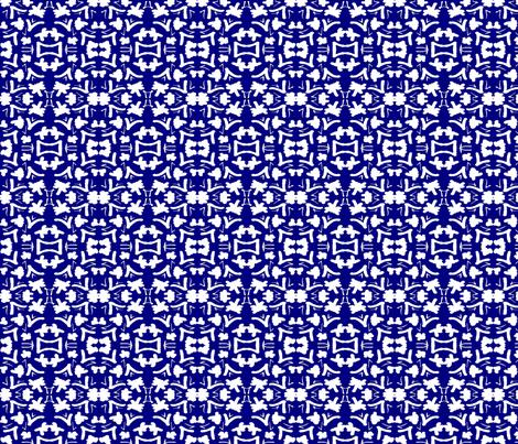 China Blue 1 fabric by tabasamu_design on Spoonflower - custom fabric