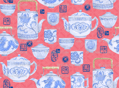 Teatime in China