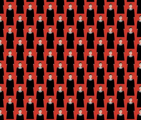 Ruth Bader Ginsburg RBG fabric by katerhees on Spoonflower - custom fabric