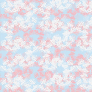 Abstract Almond Blossoms