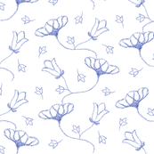 Dotty Floral Chinoiserie