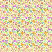 Flowers that Pop! -Eggshell background