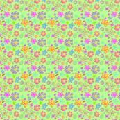 Flowers that pop! light green