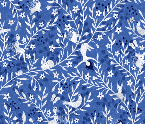 chinesefairy fabric by gaiamarfurt on Spoonflower - custom fabric