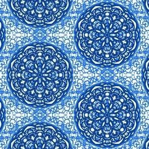 A Blue Flower Fantasy