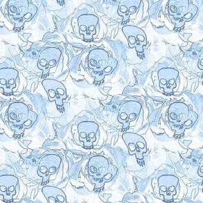 hauted skulls