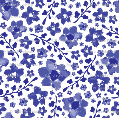 Blue Meadow Chinoserie