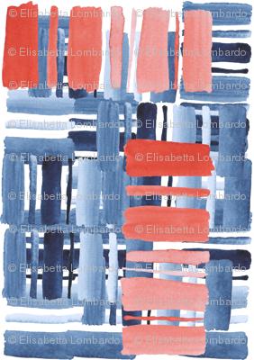 Watercolor lines