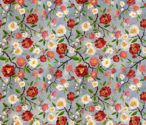 Chinoiserie fabric by divadeba on Spoonflower - custom fabric